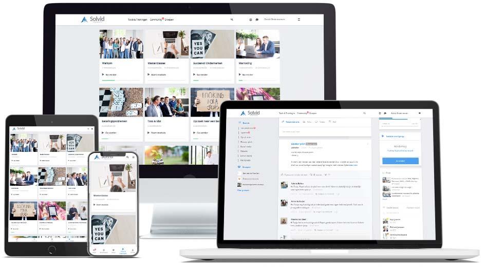 Online platform Solvid Ondernemen 2